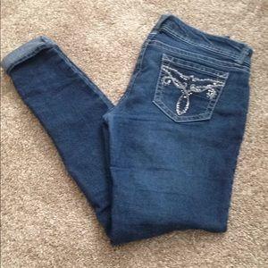 Wildflower Skinny jeans SZ 9